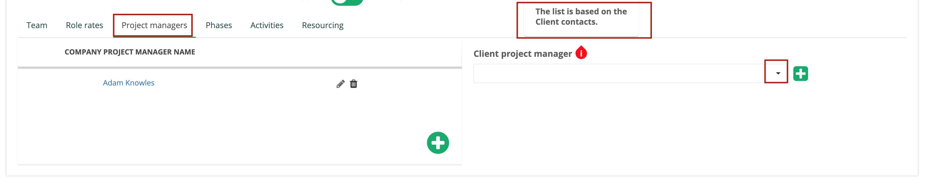 Add Client PM